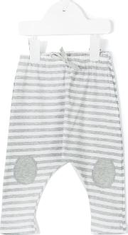 1 In The Family , Striped Trousers Kids Cottonspandexelastane 18 Mth, Grey