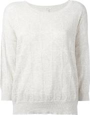 Bellerose , Round Neck Top Women Cottoncashmere Ii, Nudeneutrals