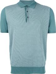 Corneliani , Knitted Polo Shirt Men Cotton 54, Green