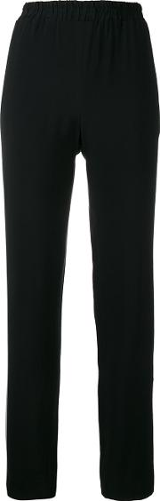 Each X Other , Other Side Band Trousers Women Acetateviscose M, Black