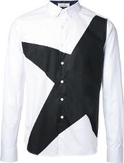 Education From Youngmachines , Star Printed Shirt Men Cotton 2, White