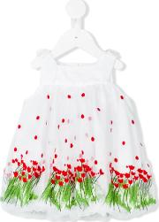 I Pinco Pallino , Embroidered Dress Kids Cottonpolyester 18 Mth, Toddler Girl's, White