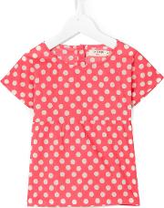 Nice Things Mini , Blurred Dots Top Kids Cotton 8 Yrs, Pinkpurple