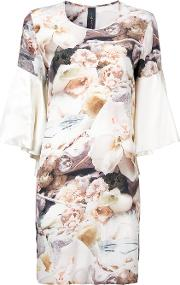 Romance Was Born , 'sarah Still Night' T Shirt Dress Women Silk 14