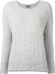 Npeal , N.peal Oversize Box Cable Jumper Women Cashmere L