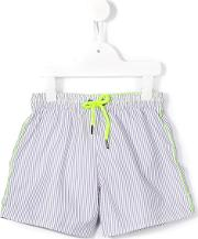 Sunuva , Striped Swim Shorts Kids Polyester 5 Yrs, Toddler Boy's, Grey
