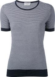 John Smedley , Striped T Shirt Women Cotton S, Blue