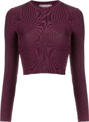 Cecilia Prado , Knit Crop Top Women Viscosespandexelastane G, Red