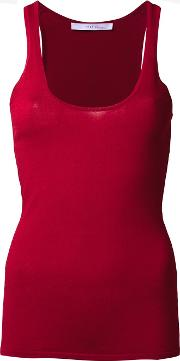 Dion Lee , 'pinacle' Knit Tank Women Nylonviscose 8, Red
