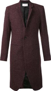 Strateas Carlucci , Plated Surgical Coat Men Wool S, Red