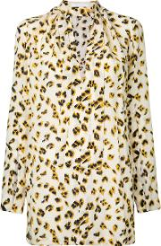 Kitx , Roar Blouse Women Silk 6, Yelloworange