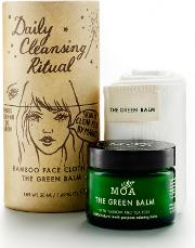 Clot , Moa The Green Balm 50ml And Luxurious Bamboo Face H