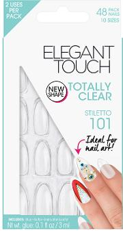 Elegant Touch , Totally Clear Stiletto 101