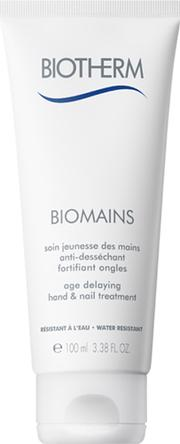 Age , Biotherm Biomains  Delaying Hand Treatment 100ml