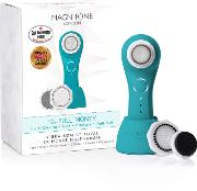 Magnitone The Full Monty Vibra Sonic  & Body Brush Electric Blue