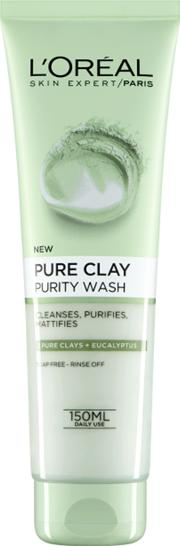 L'oreal Paris Pure Clay Purity Foaming Wash 150ml