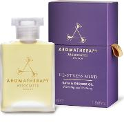 Aromatherapy Associates , De Stress Mind Bath & Shower Oil 55ml