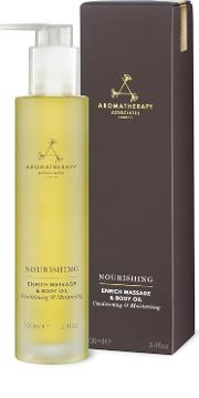 Aromatherapy Associates , Nourishing Enrich Massage & Body Oil 100ml