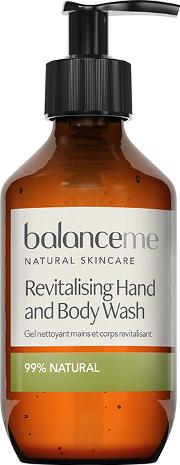 Balance Me , Revitalising Hand And Body Wash 280ml