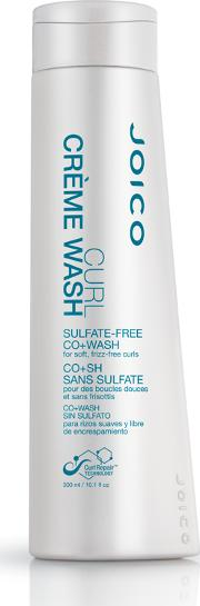 Co , Joi Curl Creme Wash Sulfate Free  Wash For Soft Frizz Free Curls 300ml