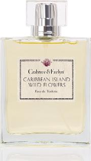 Crabtree & Evelyn , Caribbean Island Wild Flowers Eau De Toilette 100ml