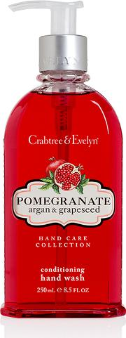 Crabtree & Evelyn , Pomegranate, Argan & Grapeseed Hand Wash 250ml