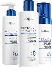 Dama , L'oreal Professionnel Serioxyl Kit 3 Fuller Hair For Very Ged Hair