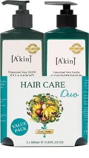 A'kin Unscented Shampoo & Conditioner