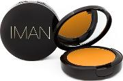 Earth , Iman Luxury Pressed Powder  10g