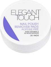 Elegant Touch , Nail Polish Remover Pads X20