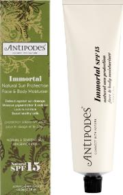 Antipodes Immortal Natural Sun Protection  & Body Moisturizer Spf 15 60ml