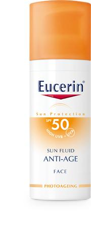Face , Eucerin Sun  Anti Age Fluid Spf 50 50ml