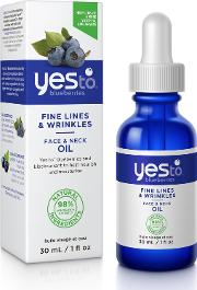 Yes To Blueberries  & Neck Oil 30ml
