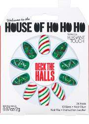 Hal , Elegant Touch House Of Holland Xmas Nails Deck The Ls