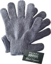 Hydréa  Bamboo Carbonised Exfoliating Shower Gloves
