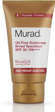 Murad , Oil Free Sunscreen Broad Spectrum Spf30 Pa 50ml