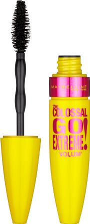 Maybelline  York Colossal Mascara Go Extreme Very Black 9.6ml