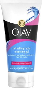 Olay , Essentials Refreshing Facial Cleansing Gel Normaldrycombination 150ml