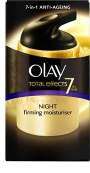 Olay , Total Effects 7 In 1 Anti Ageing Night Firming Moisturiser 50ml