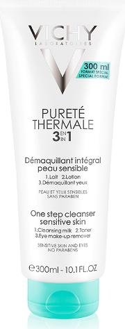 Vichy Purete Thermale 3 In 1  Step Cleanser 300ml