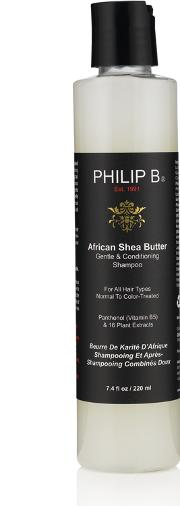 Philip B , African Shea Butter Gentle & Conditioning Shampoo 220ml