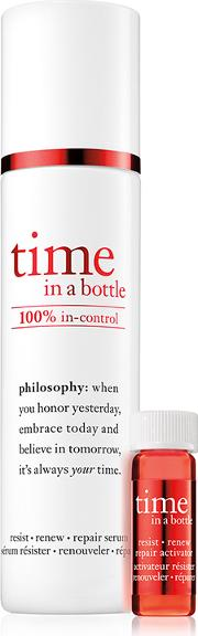 Philosophy , Time In A Bottle 100 In Control Serum And Lotion 40ml