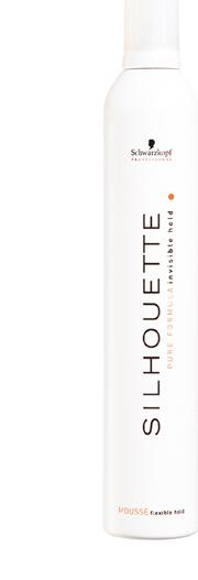 Professional Silhouette Flexible Hold Mousse 200ml