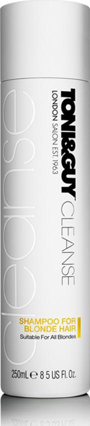 Toni & Guy , Cleanse Shampoo For Blonde Hair 250ml