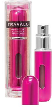 Travalo , Classic Hd Refillable Perfume Spray - Hot Pink