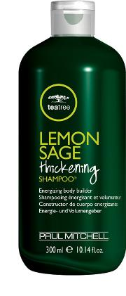 Tree , Paul Mitchell Tea  Lemon Sage Thickening Shampoo 300ml