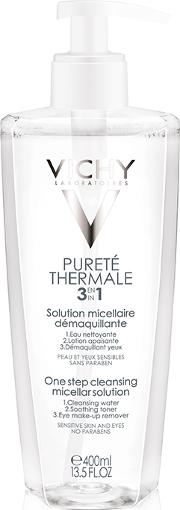 Vichy , Purete Thermale Cleansing Micellar Solution 400ml