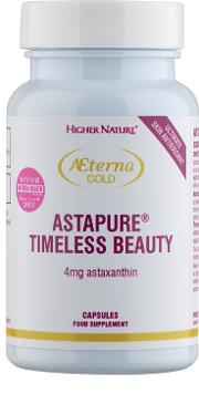 Gold , Higher Nature Aeterna  Astapure Timeless Beauty 30 Capsules