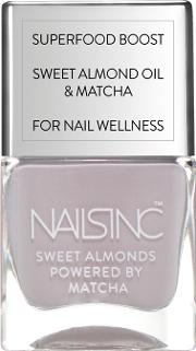 Nailsinc  Almond Powered By Matcha 14ml Gloucester Gardens