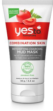 Yes To Tomatoes Detoxifying Charcoal d Mask 93g